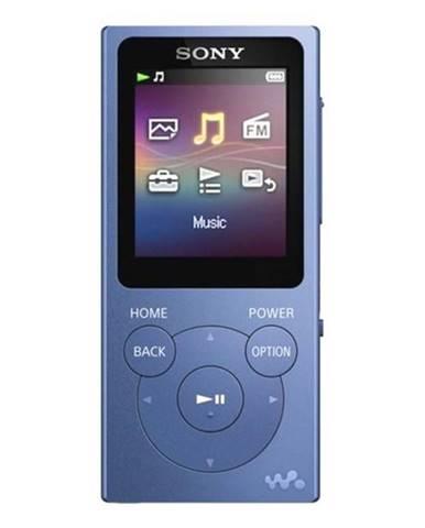 MP3 prehrávač Sony NWE393 modr