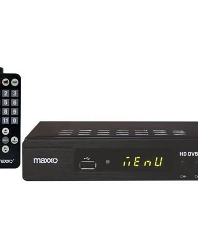 Set-top box Maxxo STB T2 + senior ovládač čierny