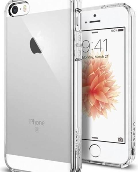 Spigen Kryt na mobil Spigen Ultra Hybrid Apple iPhone 5/5s/SE priehľadný