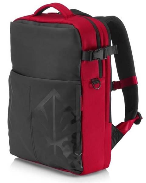 """HP Batoh na notebook  HP Omen Gaming Backpack pro 17"""" čierny/červený"""