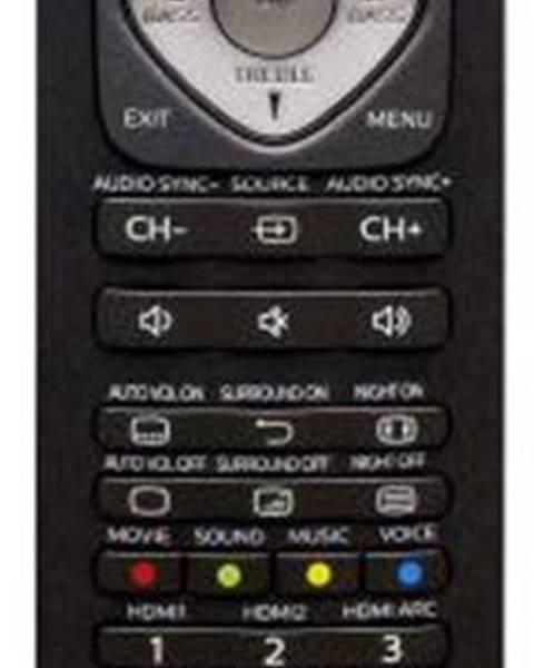 Philips Diaľkový ovládač Philips SRP5016/10 čierny