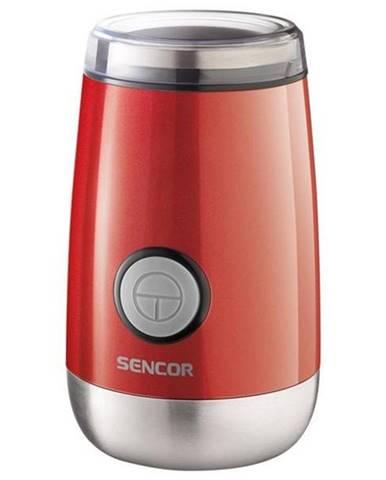 Mlynček na kávu Sencor SCG 2050RD červen
