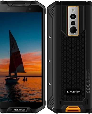 Mobilný telefón Aligator RX710 čierny/žltý