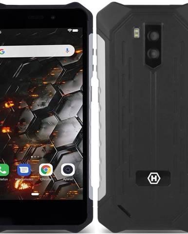 Mobilný telefón myPhone Hammer Iron 3 LTE čierny/strieborný