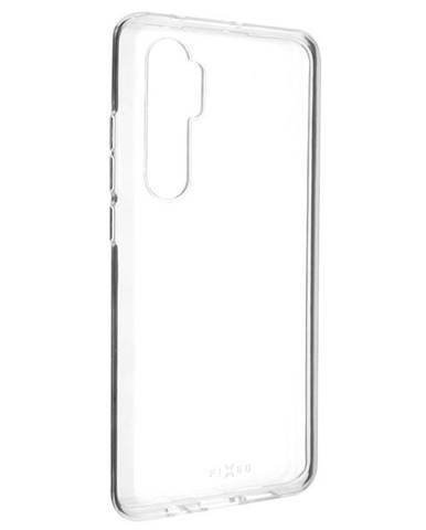 Kryt na mobil Fixed Skin na Xiaomi Mi Note 10 Lite priehľadný