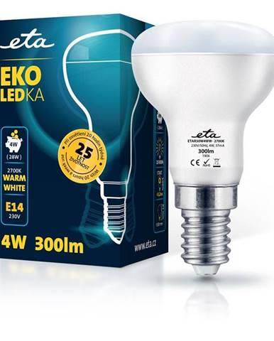 LED žiarovka ETA EKO LEDka reflektor 4W, E14, teplá biela