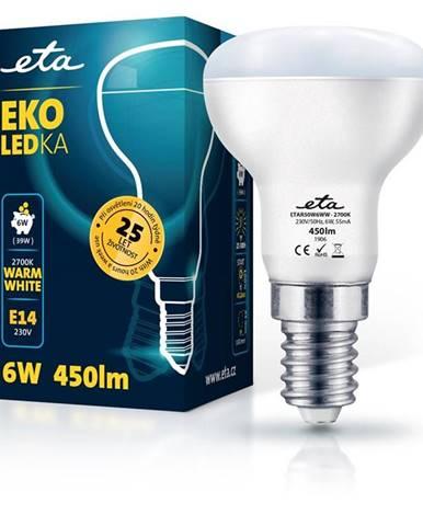 LED žiarovka ETA EKO LEDka reflektor 6W, E14, teplá biela