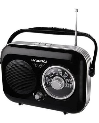 Rádioprijímač Hyundai Retro PR 100 čierne