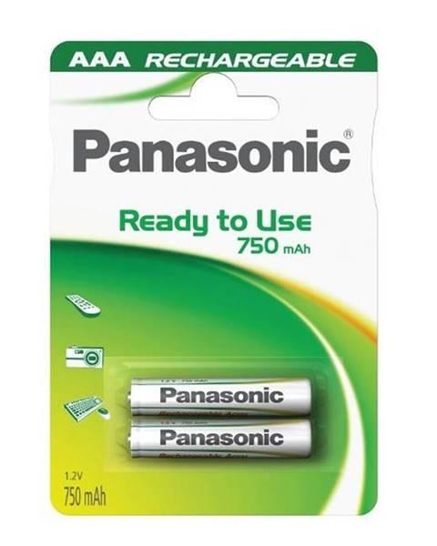 Panasonic Batéria nabíjacie Panasonic Evolta AAA, HR03, 750mAh, Ni-MH, blistr
