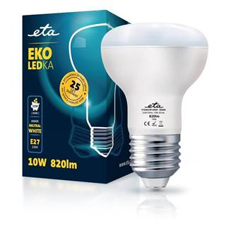 LED žiarovka ETA EKO LEDka reflektor 10W, E27, neutrálna biela
