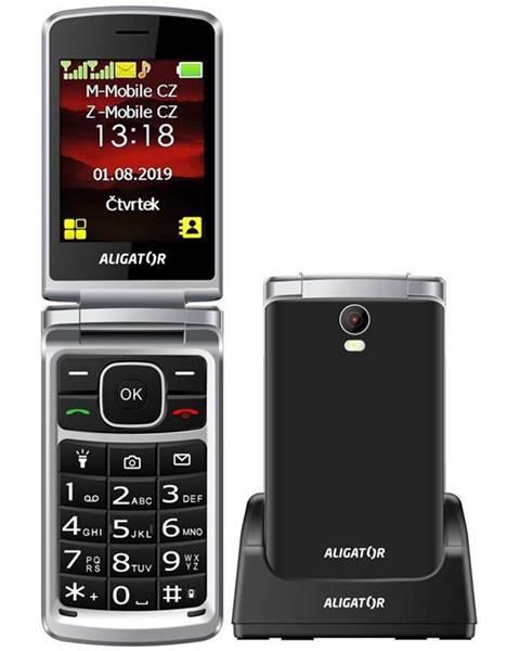 Aligator Mobilný telefón Aligator V710 Senior Dual SIM čierny