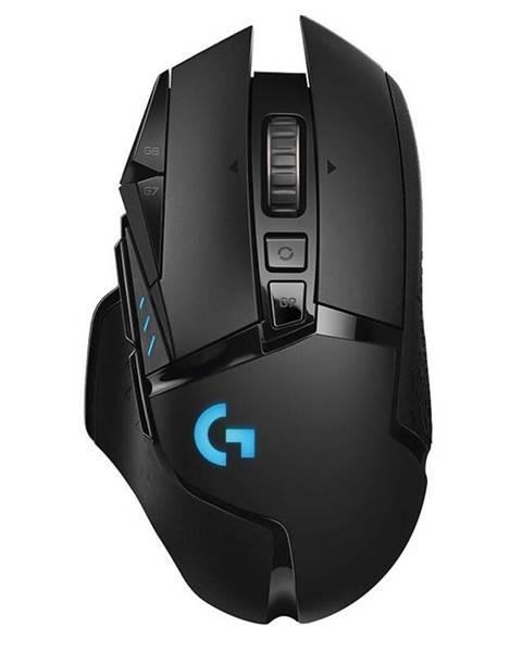 Logitech Myš  Logitech Gaming G502 Lightspeed Wireless čierna