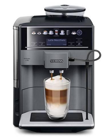Espresso Siemens EQ.6 plus Te651209rw čierne/siv