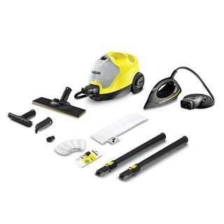 Parný čistič Kärcher SC 4 EasyFix Iron Kit žlt