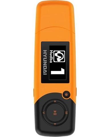 MP3 prehrávač Hyundai MP 366 GB8 FM O oranžov