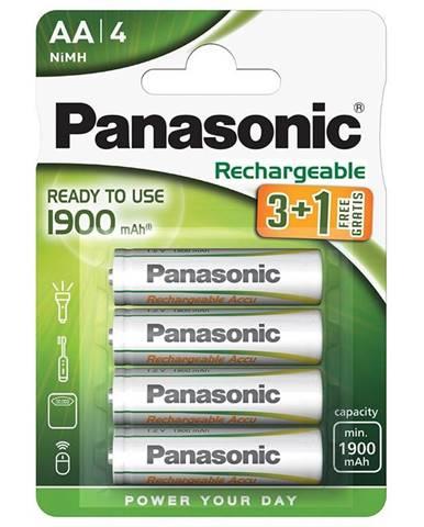 Batéria nabíjacie Panasonic Evolta AA, HR06, 1900mAh, Ni-MH, blistr