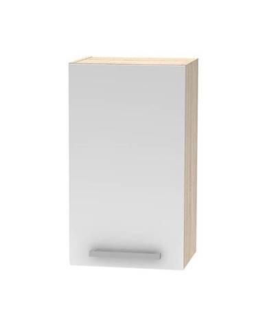 Horná skrinka biela/dub sonoma NOVA PLUS NOPL-005-OH