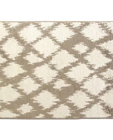 Koberec krémová/biela 133x190 LIBAR