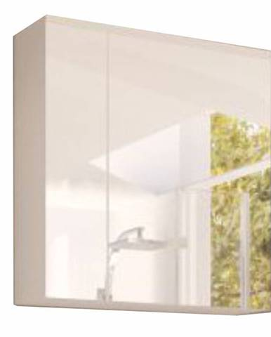 Skrinka so zrkadlom biela MASON WH14