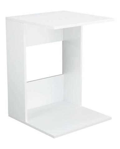 Príručný stolík biele prevedenie ZENOR