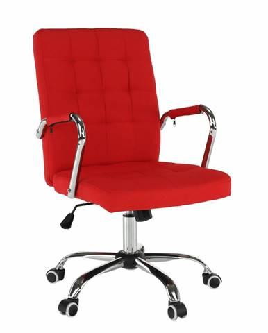 Kancelárske kreslo červená MORGEN