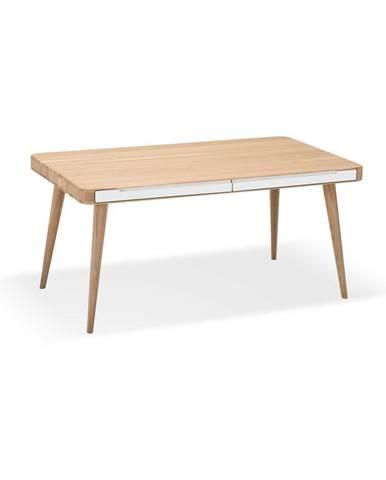 Jedálenský stôl z dubového dreva Gazzda Ena Two, 160×90 cm
