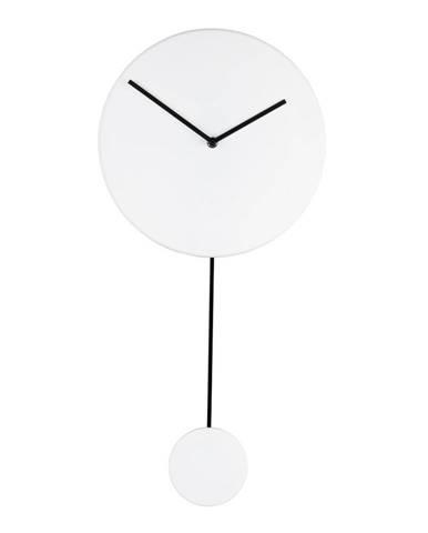 Biele nástenné hodiny Zuiver
