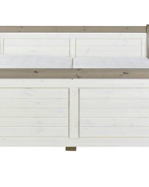 Sconto Posteľ MONACO 658 biela, 180x200 cm