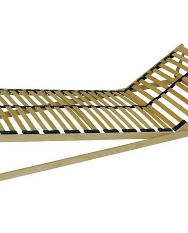 Polohovací lamelový rošt DOUBLE HN T5 80x200 cm
