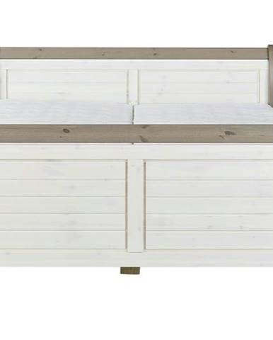 Posteľ MONACO 658 biela, 180x200 cm