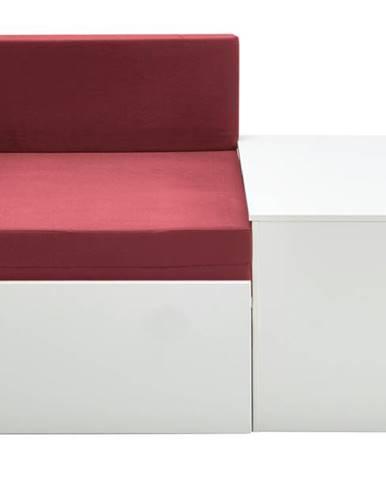 Rozkladacia posteľ s perinákom FOR KIDS 631 biela, 75x180 cm
