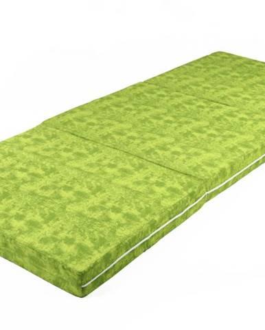 Skladací matrac MARMOR zelená
