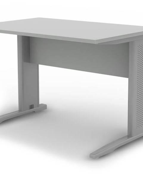 Sconto Písací stôl RIO sivá