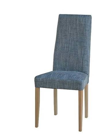 Jedálenská stolička CAPRICE buk/sivá