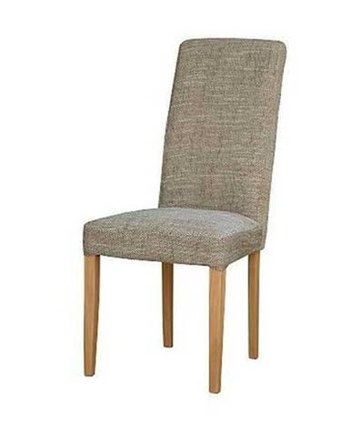 Jedálenská stolička CAPRICE buk/capuccino