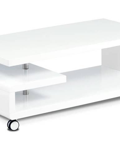 Konferenčný stolík TULIP biela