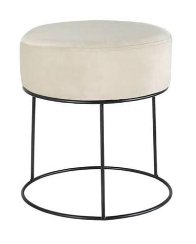 Stolička OHORN béžová/čierna