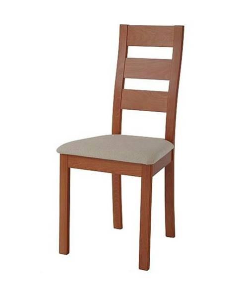 Sconto Jedálenská stolička DIANA čerešňa/svetlohnedá