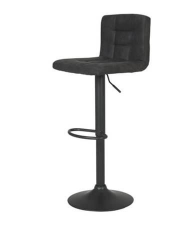 Barová stolička AMANDA I H antracitová