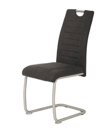 Jedálenská stolička ULLA S antracitová