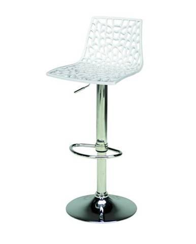 Barová stolička SPIDER biela