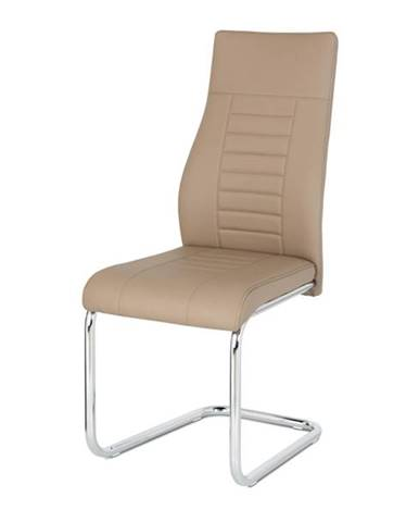 Jedálenská stolička ADRIENA cappuccino