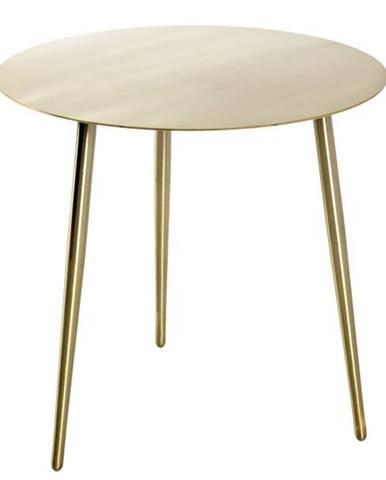 Prístavný stolík GOLDEX 2 zlatá