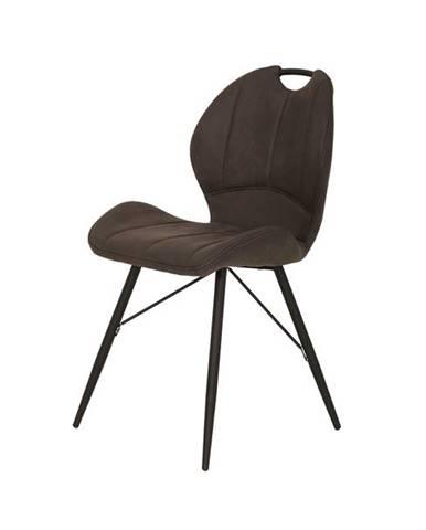 Jedálenská stolička KATE S antracitová